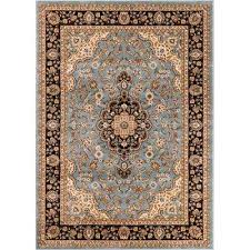 Powder Blue Area Rug 8 X 10 Blue Area Rugs Rugs The Home Depot