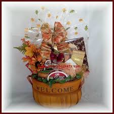 welcome gift baskets for thanksgiving day joyces baskets