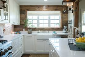 joanna gaines farmhouse kitchen with cabinets seven farmhouse kitchen designs hallstrom home