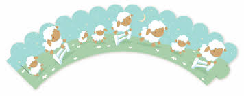 sheep baby shower sheep baby shower cupcake wrappers candles favors