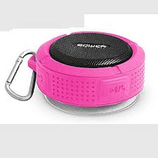 Rugged Boombox Bower Rugged Bluetooth Speaker Pink Staples