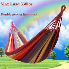 double wide hammock cotton soft woven bed for supreme comfort