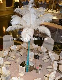 tall wedding candelabra centerpiece feather centerpiece buy