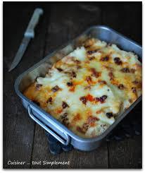 les blogs de cuisine gratin de chou fleur comté chorizo cuisiner tout simplement