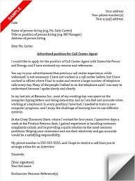 Call Center Sample Resume Stylish Idea Call Center Cover Letter 8 Sample Cv Resume Ideas