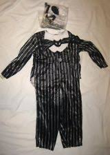 Jack Skellington Costume Baby Boys Jack Skellington Costume Coverall 6 12 Months Ebay