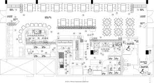 restaurant open kitchen floor plan