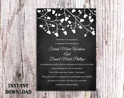 Diy Wedding Invitations Templates Chalk Board Invitation Template Top 10 Chalkboard Wedding