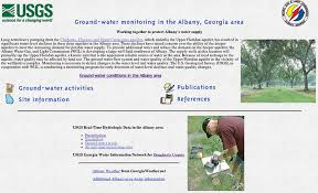 Water Gas And Light Albany Ga Usgs Scientific Investigations Report 2005 5065 Ground Water