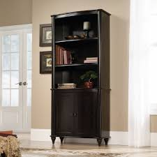 Sauder Beginnings Bookcase by Amazon Com Sauder New Albany Library With Doors Jamocha Wood