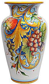 Classic Vases Deruta Italian Ceramic Vase