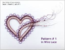 wire lace support lenka s way of lace