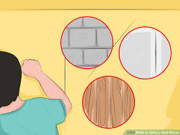 How To Hang A Wall Mirror 3 Ways To Hang A Wall Mirror Wikihow