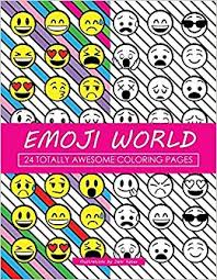 amazon emoji 24 totally awesome coloring pages emoji