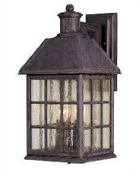 Exterior House Lights Fixtures Baja Mission Style Wall Light Copper Lantern Copper Lantern