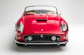 Ferrari California Convertible Gt - 1961 ferrari 250 gt california spyder swb petersen automotive