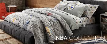 Pottery Barn College Bedding Basketball Bedding U0026 Nba Bedding Pbteen