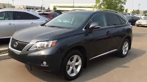 lexus smoky granite mica pre owned grey on black 2010 lexus rx 350 awd premium package 2