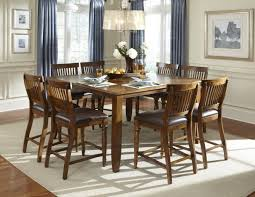 dining set trendy design 9 piece counter height dining set