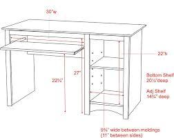 48 Inch Computer Desk Black Computer Desk Kitchen Dining