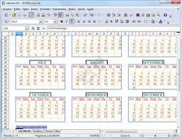 free excel templates calendar creator download
