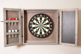 black dart board cabinet how to hang a dartboard cabinet homeminimalist co