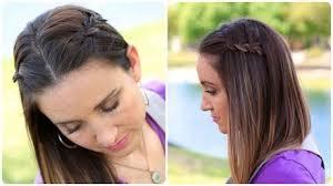 cute girl hairstyles diy diy 4 strand waterfall braid cute girls hairstyles makeup videos