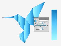 Origami Illustrator - how to create an origami style logomark in illustrator