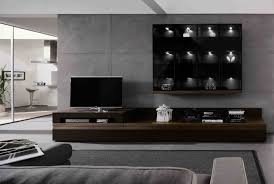 Design Cabinet Tv Living Room Wonderful White Dark Brown Wood Glass Unique Design