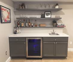 floating kitchen shelves with lights floating kitchen shelves brown checkered wall tile natural wood