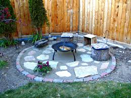 exterior black garden treasures fire pit and backyard fire pits