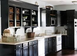 How To Paint Kitchen Cabinets Black Painting Kitchen Cabinets Black Image Courtesy