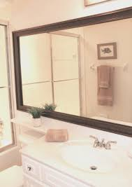 bathroom best stick on frames for bathroom mirrors amazing home