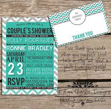 Couple Shower Invitations Items Similar To Printable Couples Shower Invitations Bridal