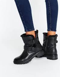 womens boots kurt geiger kurt geiger cheap shoes miss kg snug biker boots black kurt