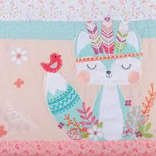 Circo Owl Crib Bedding by Amazon Com Trend Lab Wild Forever 3 Piece Crib Bedding Set Pink