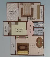 1 bhk 700 sq ft apartment for sale in happy home sarvodaya leela