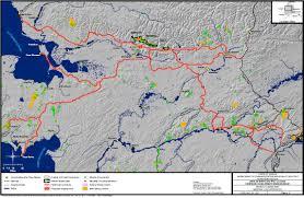 Road Map Of Alaska by Ambler Road Alaskans For Responsible Mining
