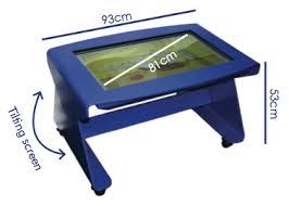 tilt and touch digital nursery brainary interactive