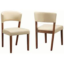 coaster furniture 122182 paxton dining chair in nutmeg set of 2