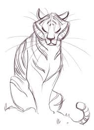 best 25 easy tiger drawing ideas on pinterest tiger drawing