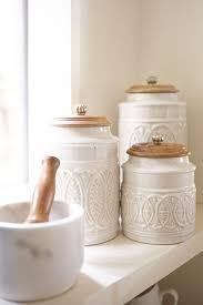 country kitchen canisters best 25 kitchen canisters ideas on country style rustic