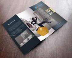 it u0027s a clean tri fold brochure template design for any types of
