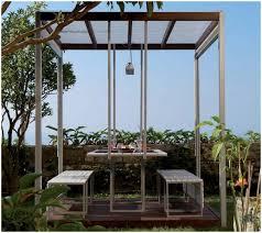 Outdoor Mesh Screen by Backyards Modern Outdoor Gazebo Canopy 10 X Pop Up Tent Mesh