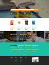 templates for bookshop responsive books website templates