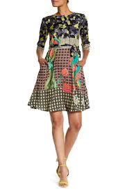 desigual istanbul multiprint dress hautelook