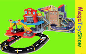 bburago station playset toys for boys mega