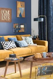 Yellow Room Decor Blue And Mustard Yellow Living Room Coma Frique Studio 912234d1776b