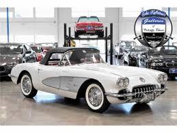 vintage corvette for sale 1959 chevrolet corvette for sale classiccars com cc 986695