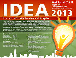 interactive data exploration and analytics idea workshop at
